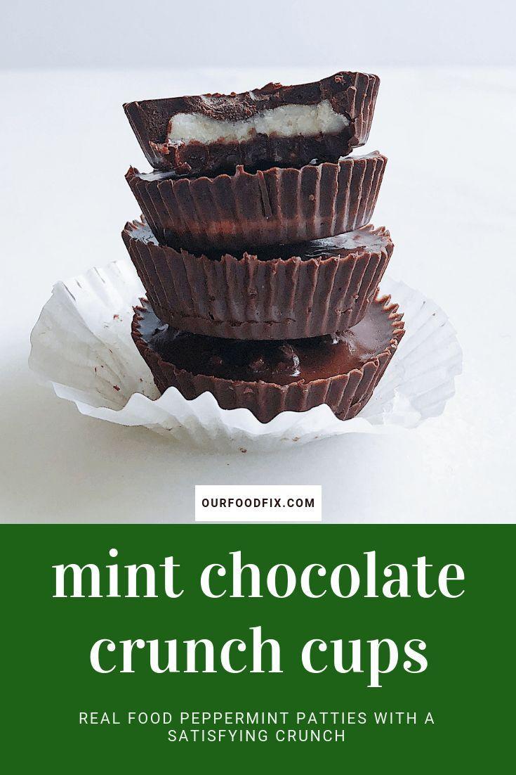 Mint Chocolate Crunch Cups Paleo Aip Vegan