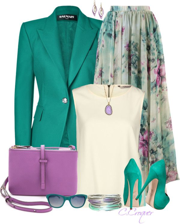27 Modish Outfits To Wear Lilac Color