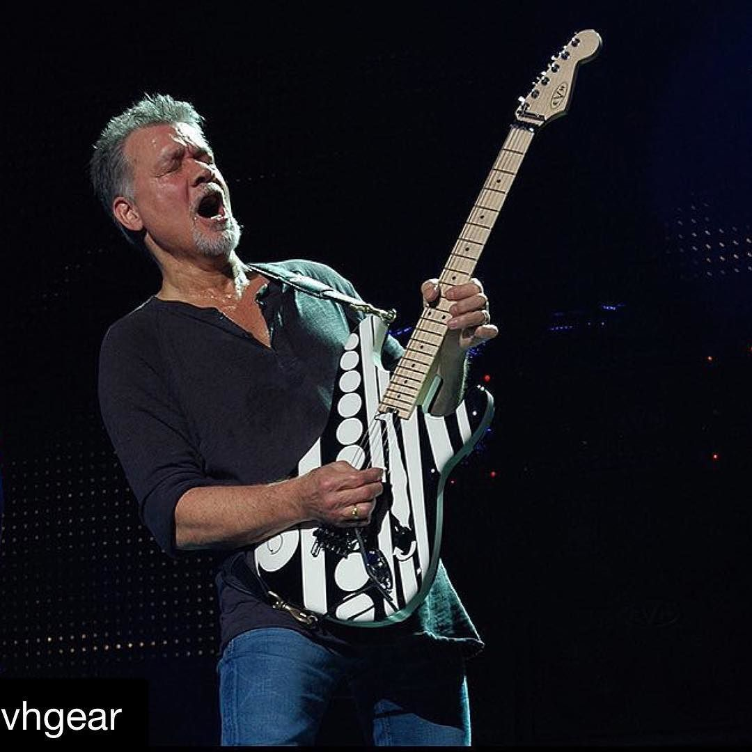 Happy Evh Day Everybody The Man Is 61 Years Old Today Guitarhero Eddievanhalen Vanhalen Eruption Guitargod Guitargods Inspiration B Eddie Van Halen Van Halen Music Artists