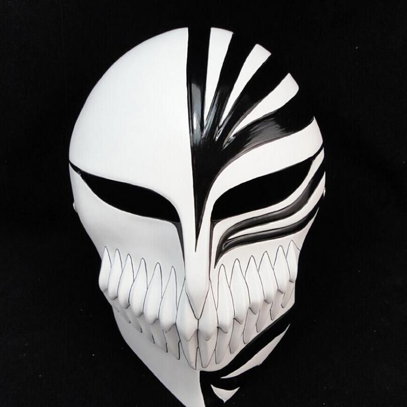 20PCS High Quality Death mask ghost step dance ichigo kurosaki mask ...