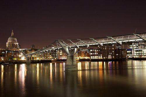 River Thames at night