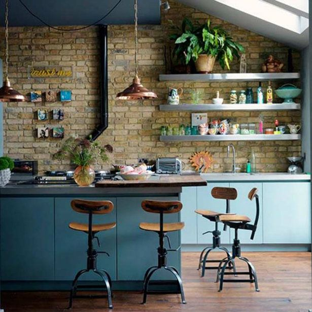 Industrial Style Kitchens Can Typically Be Found In Old Buildings And Lofts But Some Homeowners Love The Look Are Mixing It Into Their Eclectic Homes