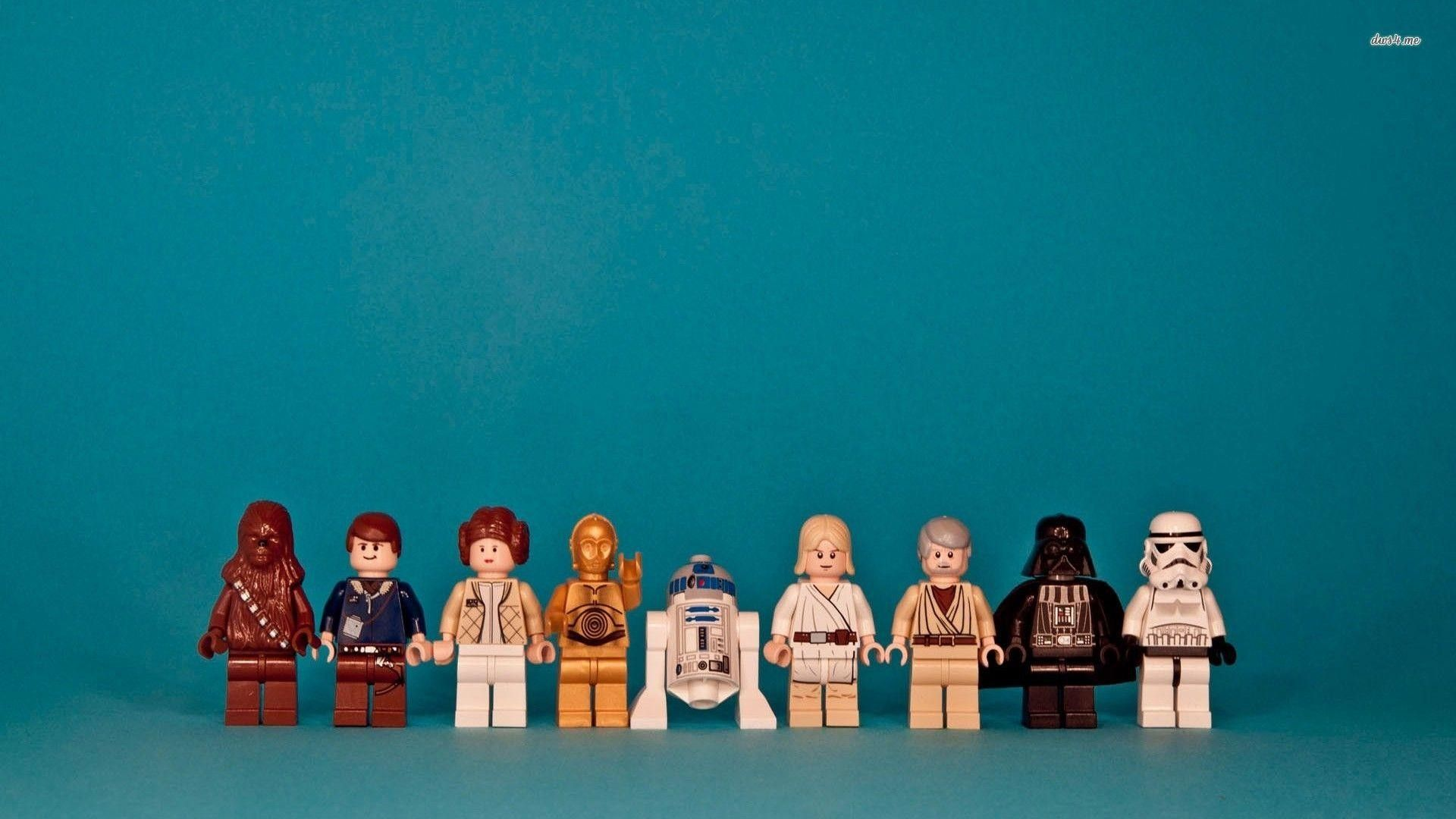 1920x1080 Star Wars Characters Lego Background Hd Wallpaper Of