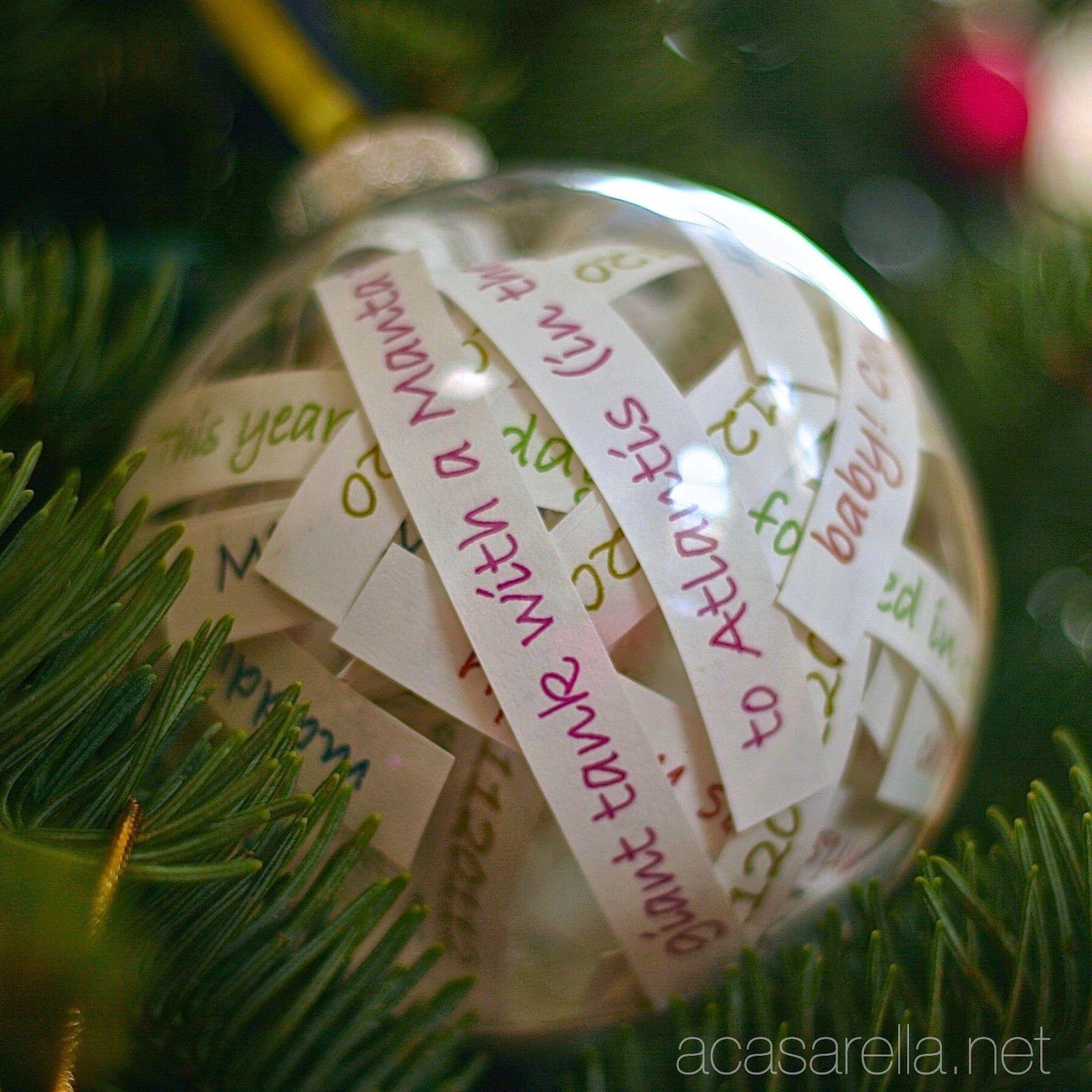 Ornament Full of Memories Ornaments, Memorial ornaments