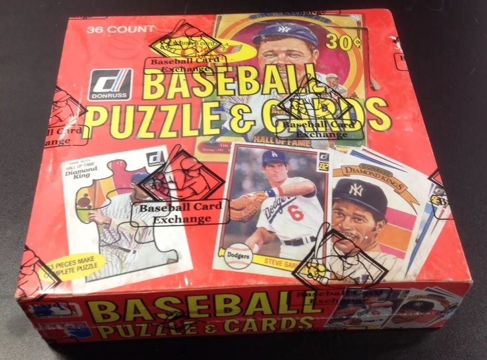 1982 Donruss Baseball Unopened Wax Box (BBCE Wrapped