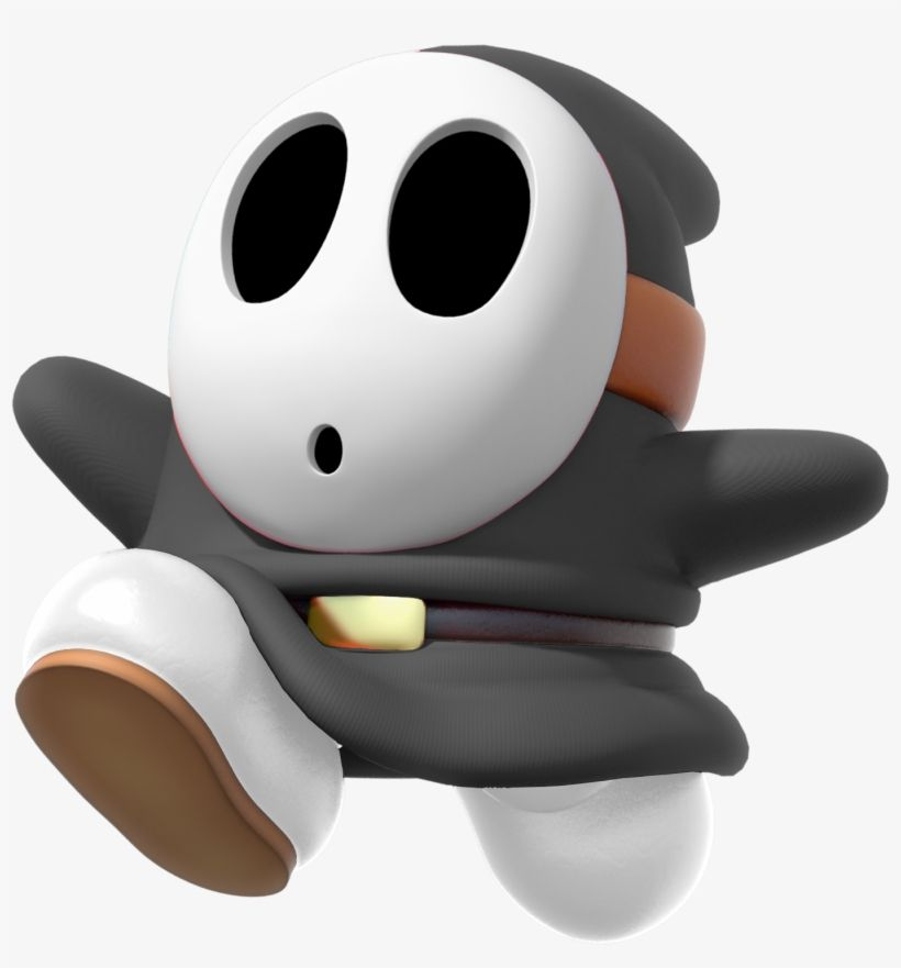 Download Mkdx Black Shy Guy Black Shy Guy Png Png Image For Free The 1400x1436 Transparent Png Image Is Popular And Please Sh Shy Guy Mario Color Splash Shy
