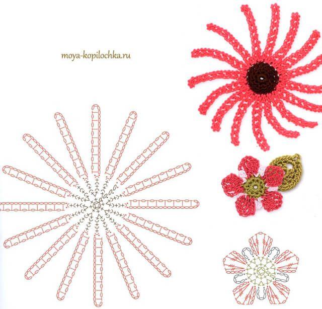 Todo crochet | flores | Pinterest | Crochet Flowers, Crochet y ...