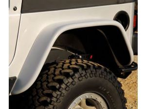 Xenon 9160 Rear 6 Flat Fender Style Flares For 97 06 Jeep