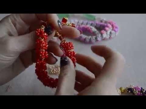 Ольга перминене бисероплетение мк на youtube