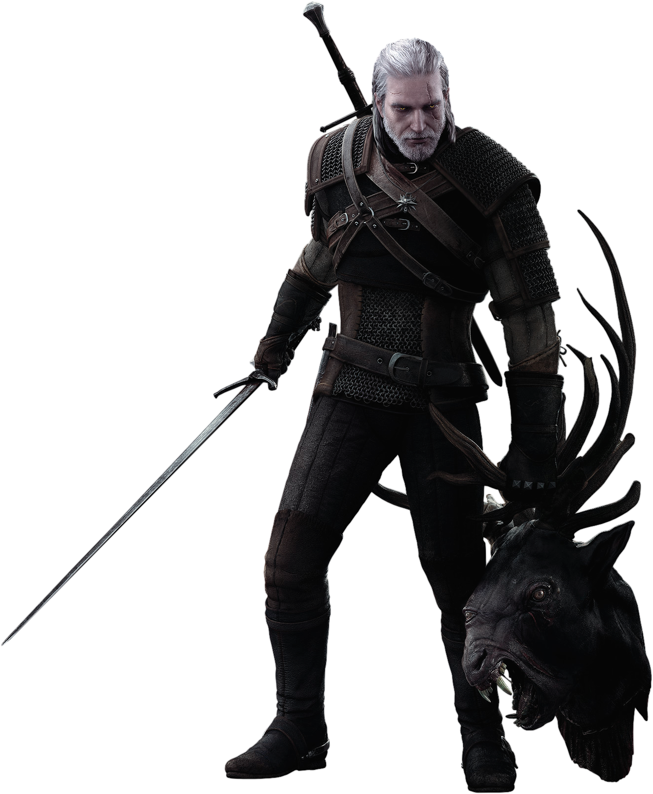 Geralt Of Rivia 1 Geralt Of Rivia The Witcher Png Images