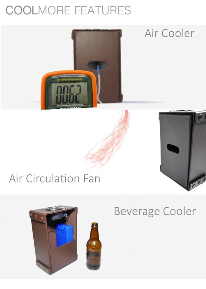 Coolmore The Coolest Ac Cooler Fan For Your Desktop Cool Stuff Cooler Beverage Cooler