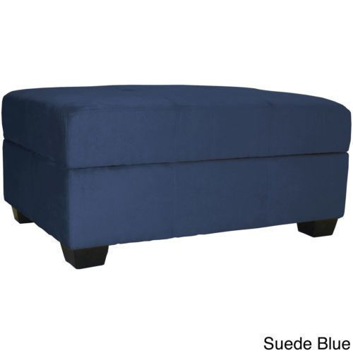 Tufted Padded Hinged 36 X 24 Storage Ottoman Bench Storage Ottoman Bench Ottoman Ottoman In Living Room