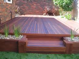 australian backyard deck design planter box - Google Search | Deck ...