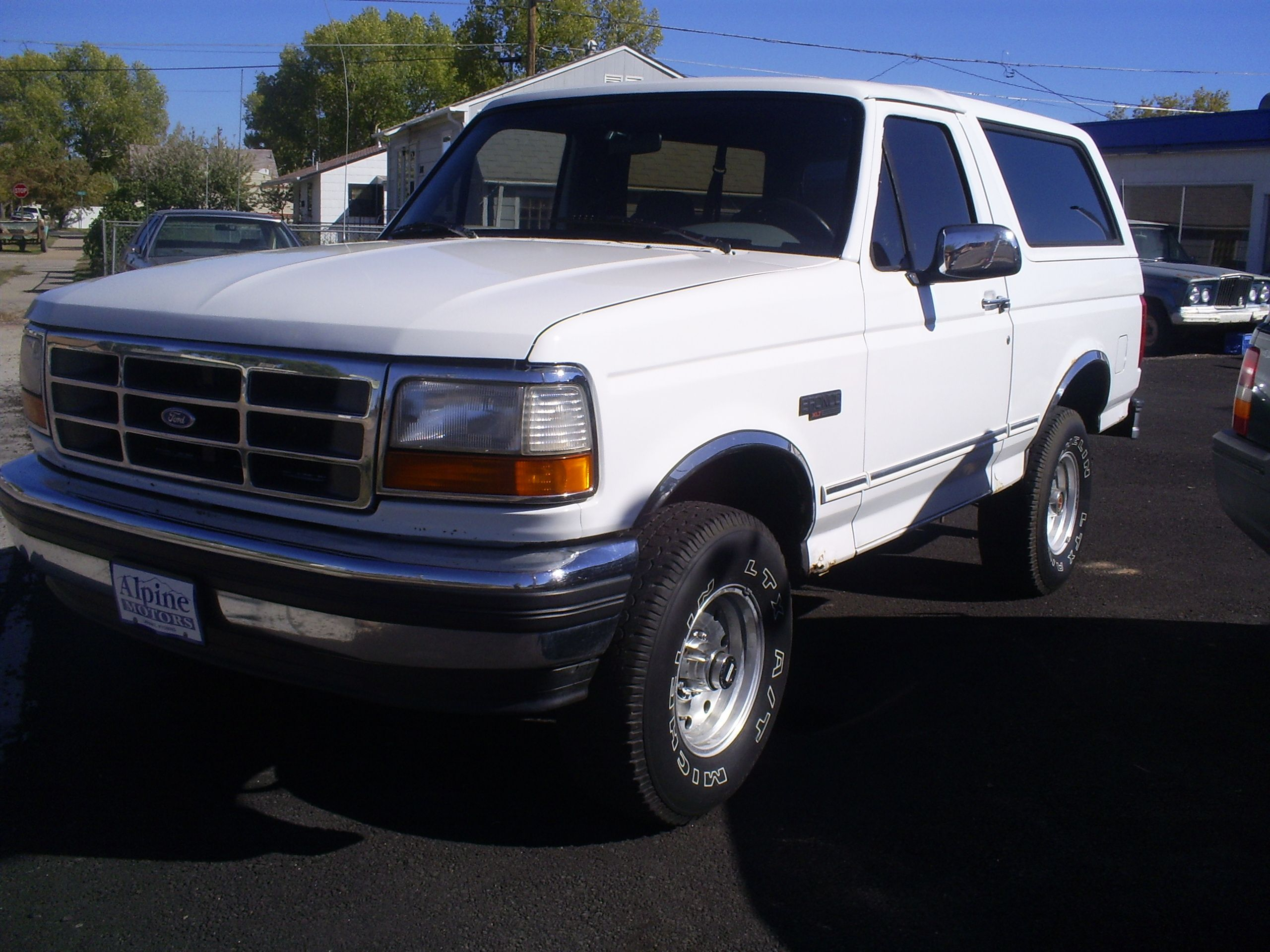 The Ford Bronco is a sport utility vehicle that was