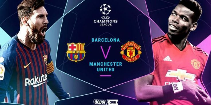 Manchester United Vs Barcelona #manchester #united