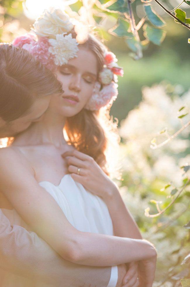 Florales Inspirationsshooting Von Onamora Photography