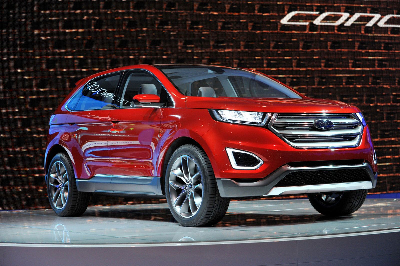 2017carsrevolution 2016 Ford Edge For Changes Concept Exterior