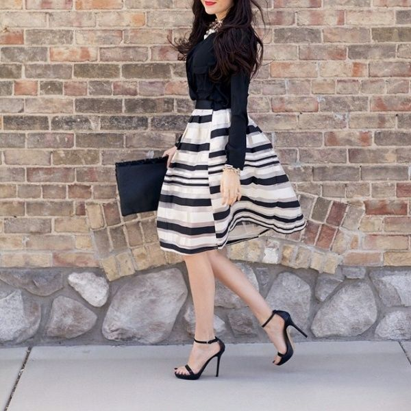 0fc4298b04 20 gorgeous winter wedding guest style ideas  pretty tulle skirts ...