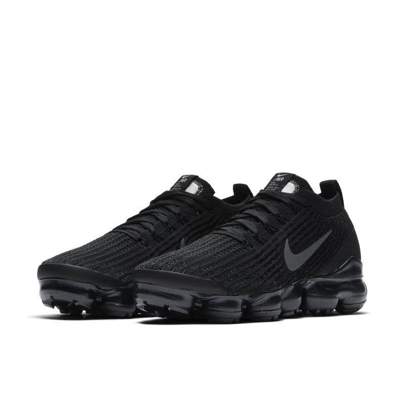Nike Air VaporMax Flyknit 3 Women\u0027s Shoe , Black in 2019