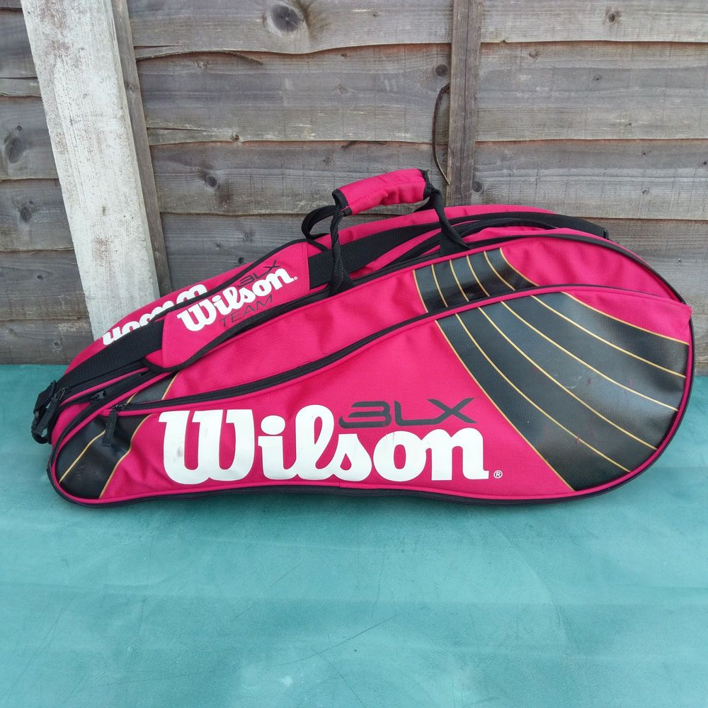 Wilson BLX Team 6 Racket Tennis Bag Backpack Wilson