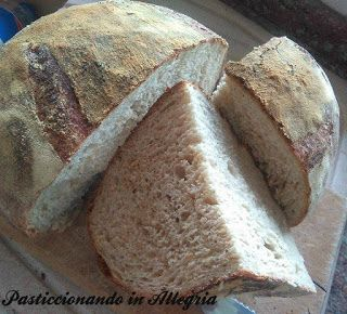 Pasticcionando in Allegria: Pane con farina di grano duro antico Tumminia, idr...