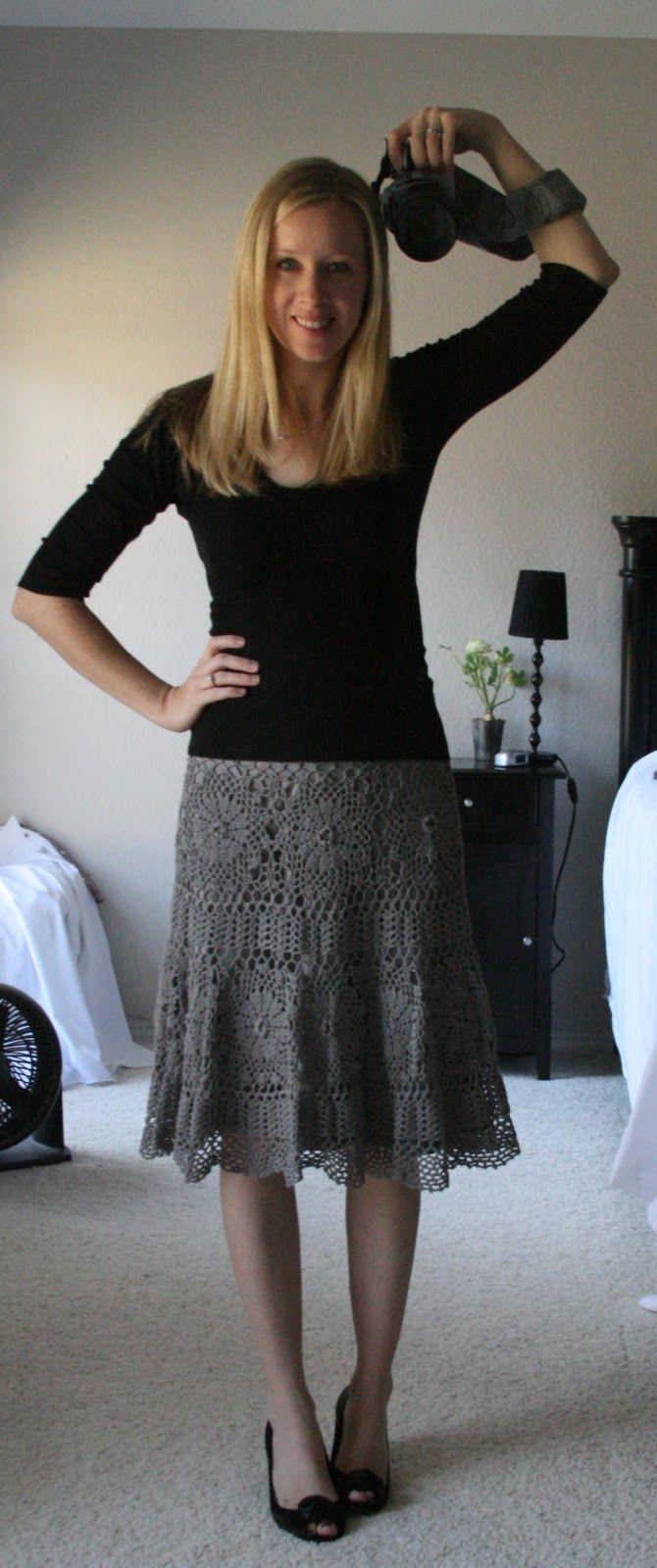 6454d8933df Maxi crochet skirt PATTERN (sizes Xs-3XL) crochet TUTORIAL in ...