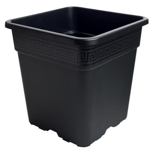 Baskets Pots and Window Boxes 20518: .5 1 1.5 2 5 8 Gallon Black Square Nursery Pots Vegetable Tomato Herbs -> BUY IT NOW ONLY: $115 on eBay!