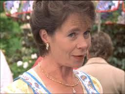 Another of Celia Imrie as Mhairi McFarlane
