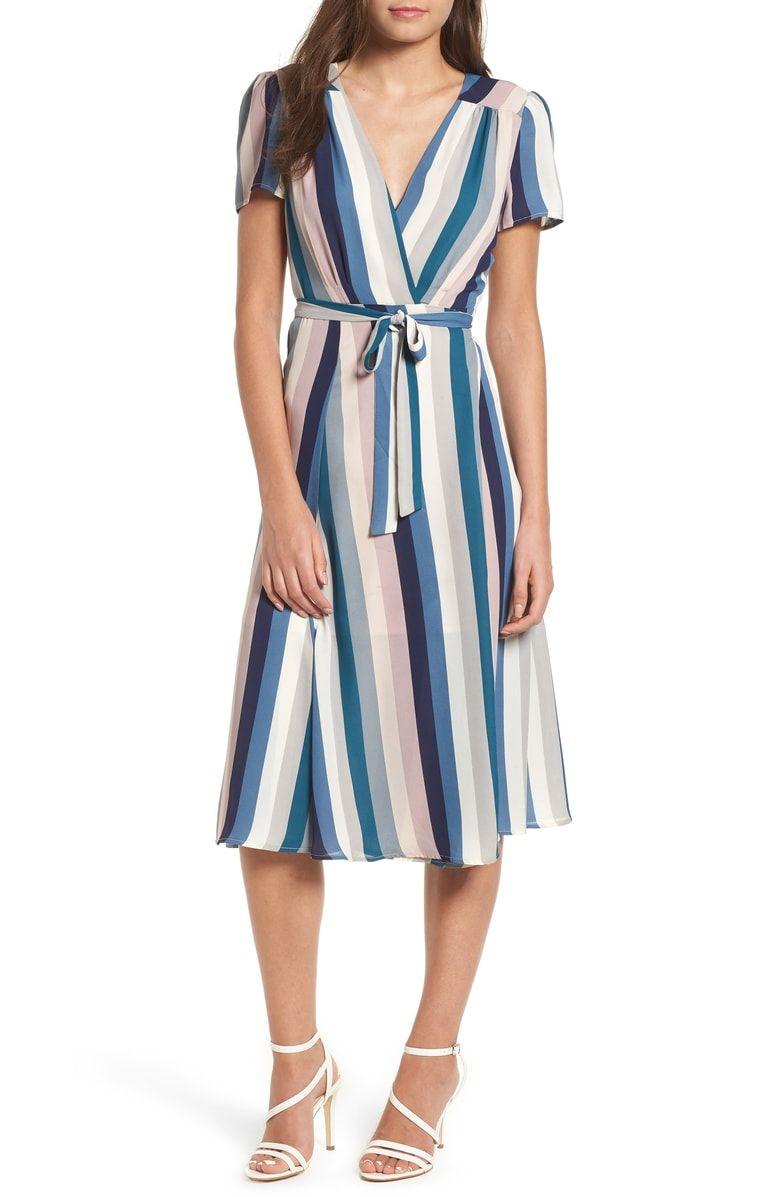 Leith Midi Wrap Dress Nordstrom Wrap Dress Midi Wrap Dress Dresses [ 1197 x 780 Pixel ]