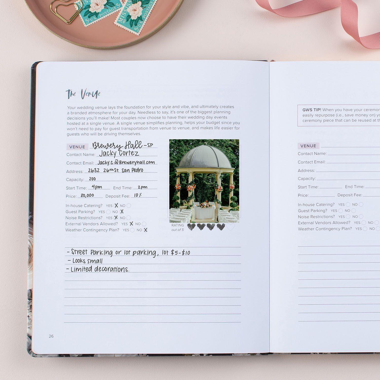 The Brand New Gws Softbound Wedding Planner To Guide Inspire In 2020 Erin Condren Wedding Planner Wedding Planning Binder Wedding Planner