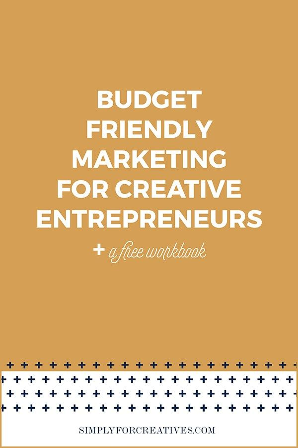 Budget Friendly Marketing for Creative Entrepreneurs Photographers