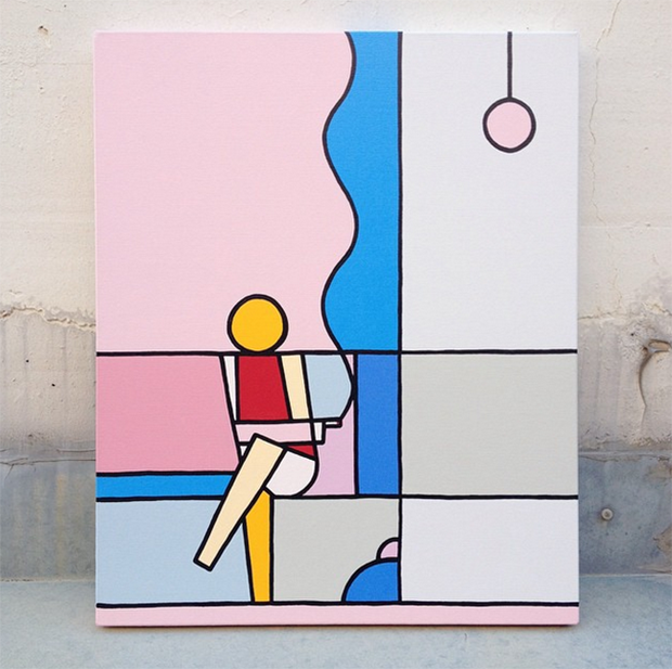 Imagens de arte abstrata geometrica