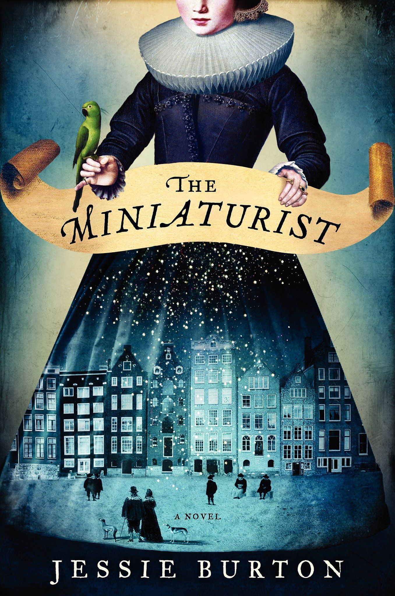 """Jessie Burton's novel The Miniaturist is a mix of fantasy, mystery, historical fiction, and romance set in 17th century Amsterdam about a young new wife who hires a miniaturist artist to furnish a dollhouse-sized replica of her new home. Called """"a magnificent story of love and obsession, betrayal and retribution, appearance and truth."""" Out Aug. 26"""