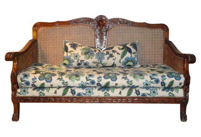 Colonial Plantation Sofa