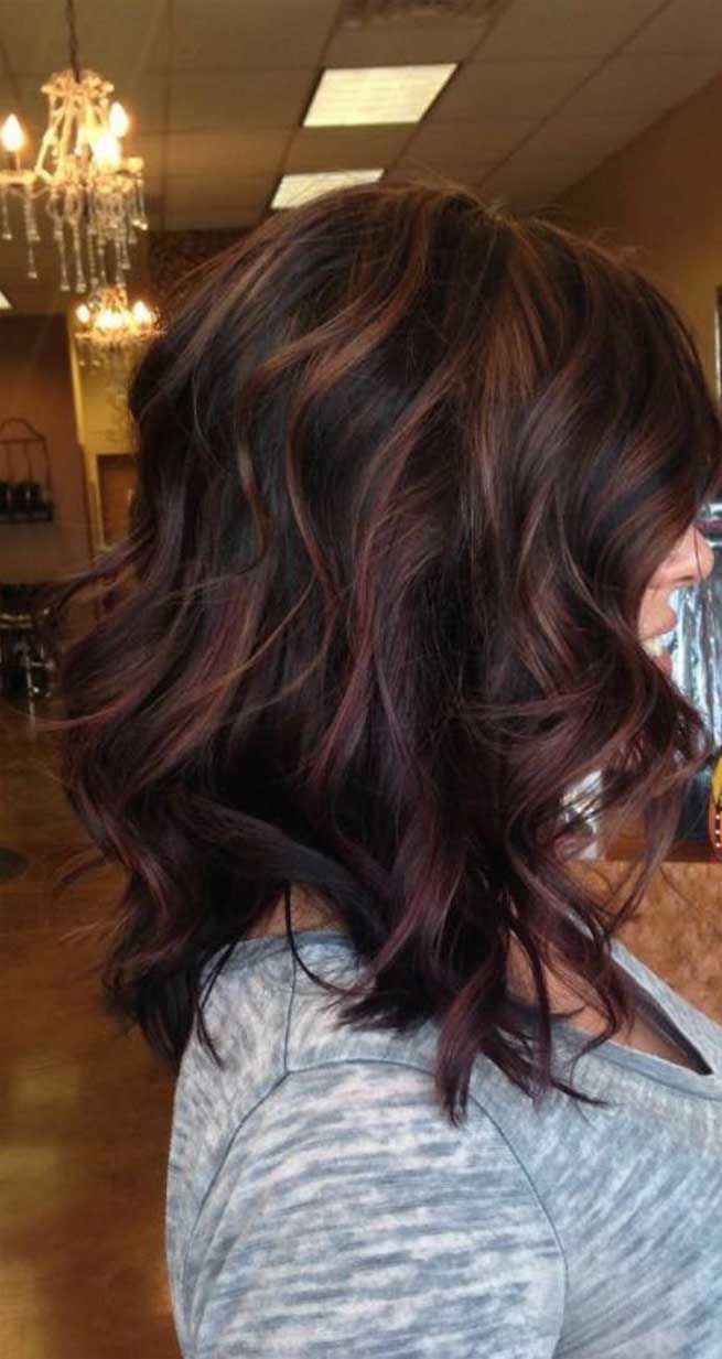 Trendy Winter Hair Color Ideas