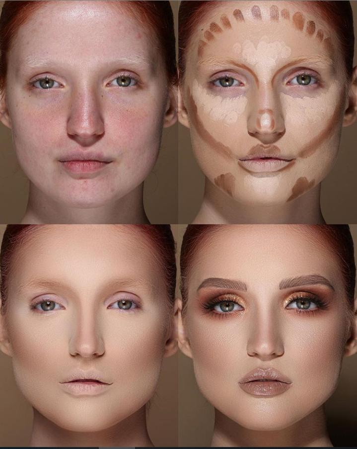 24 Perfect And Best Contour Highlight Makeup Tutorial For Beginners