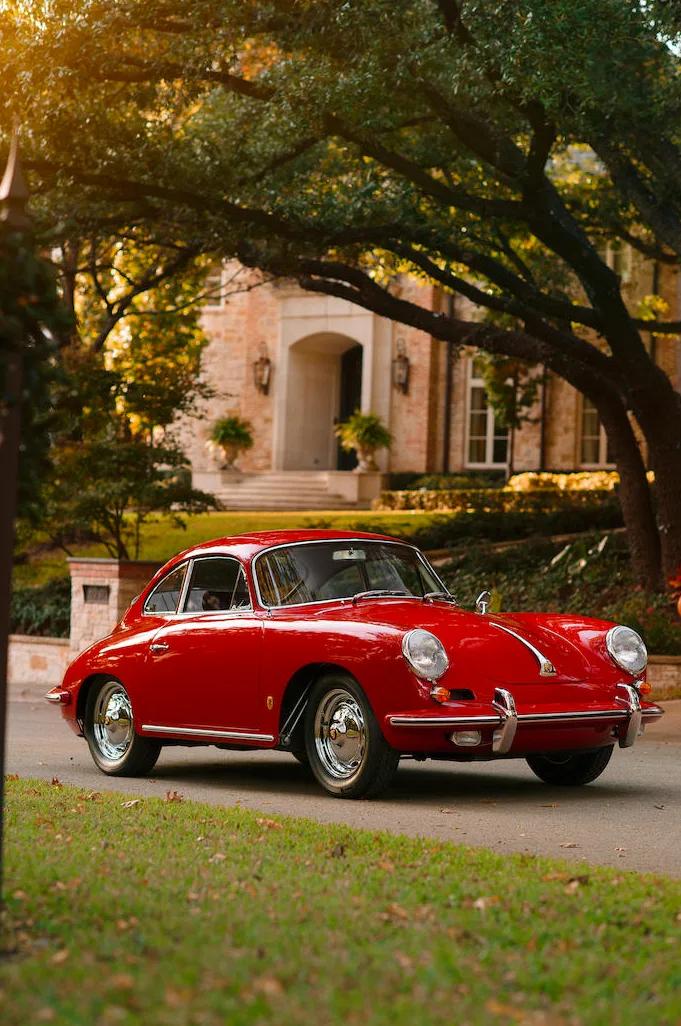 Car Porn: 1962 Porsche 356 Carrera 2 GS Coupe