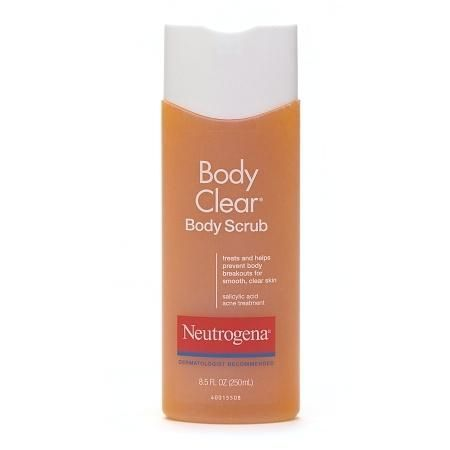 Neutrogena body clear body scrub salicylic acid acne treatment revitol acnezine solution is a complete acne scar removal treatment designed to locate and get rid of acne scars to give your body a natural look ccuart Gallery