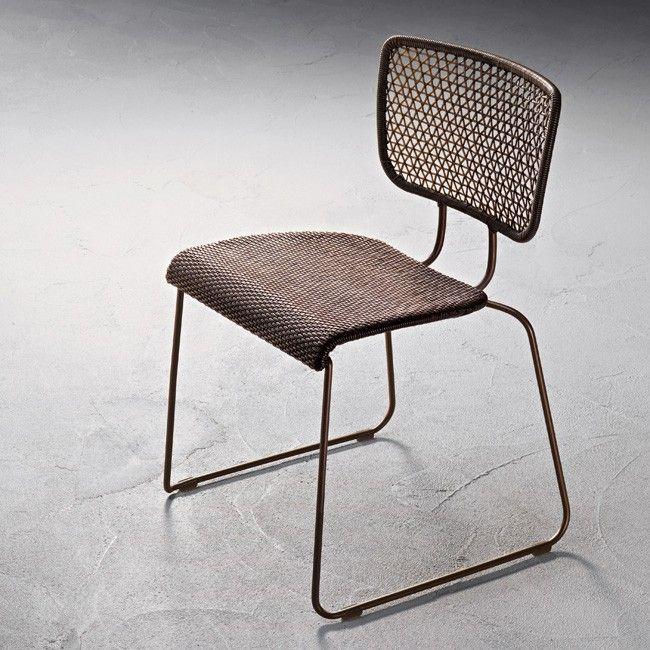 Roberti    Coral Reef - Chair (Oval Sunloom) FURNITURE - gartenliege design klassiker