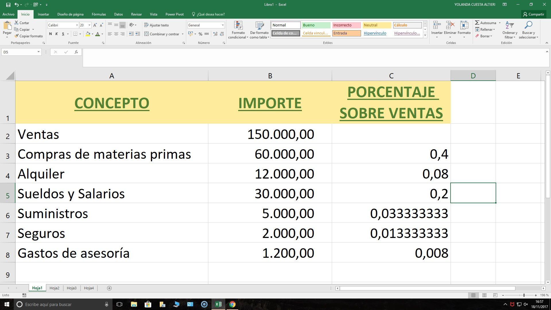 Cómo hacer un análisis con Excel de los gastos e ingresos? | Cómo ...
