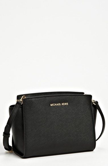 michael michael kors medium selma saffiano leather crossbody bag rh pinterest com