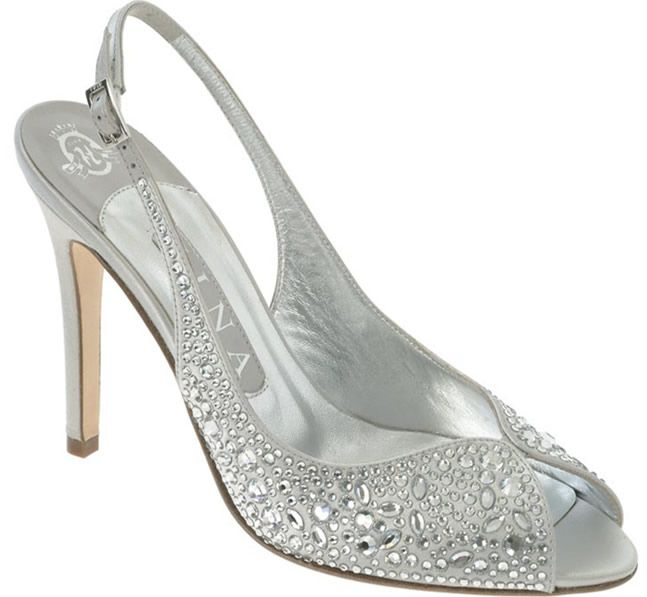 Peep Toe Silver Shoes For Wedding Silver Bridesmaid Shoes Silver Bridal Shoes Silver Wedding Shoes