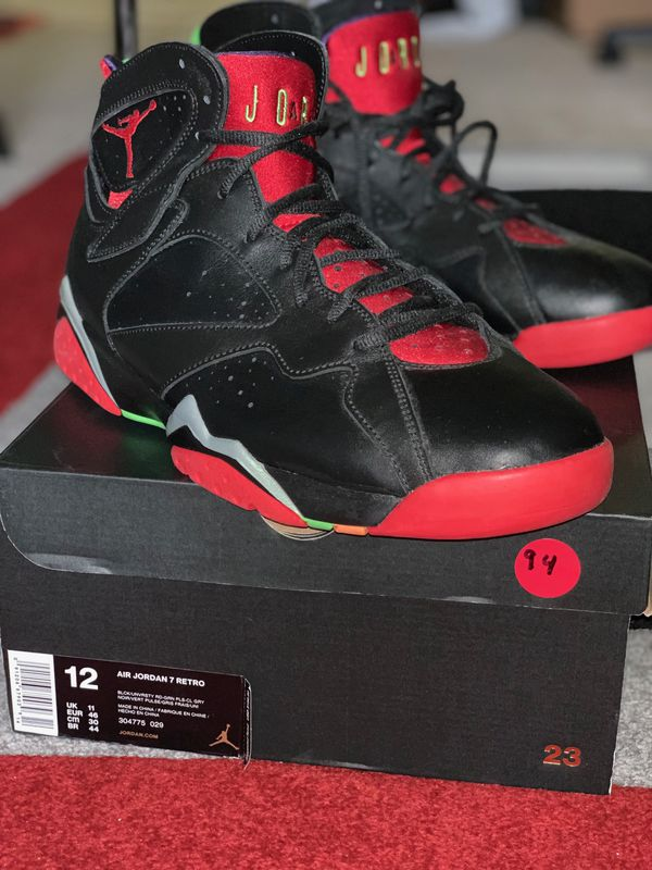 Air Jordan 7 Retro Marvin The Martian Air Jordans Jordan 7