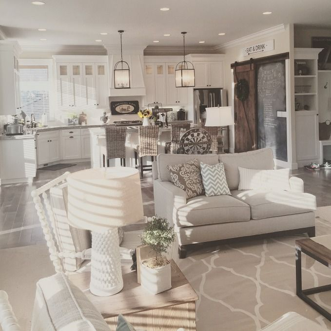 Kitchen Great Room: Feature Friday: Yellow Prairie Interiors