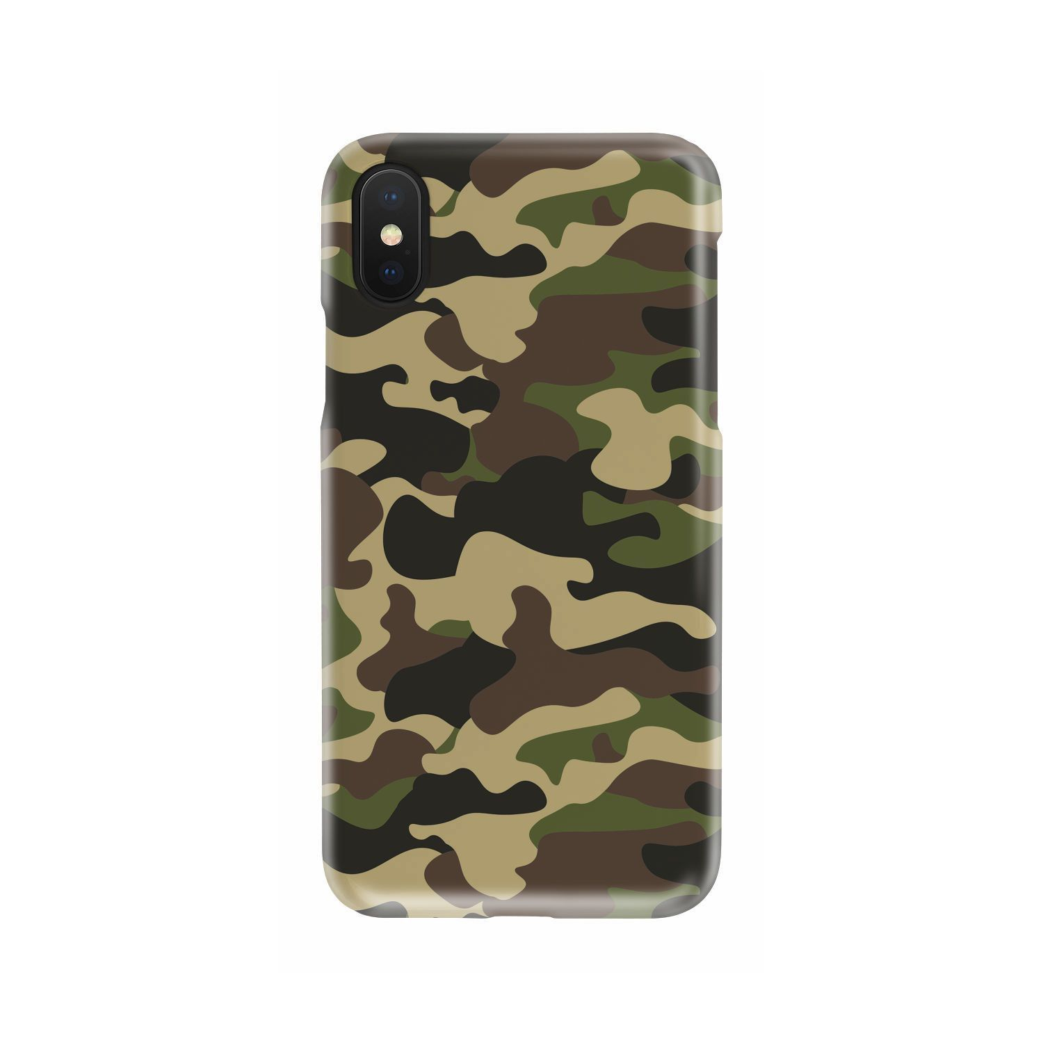 Army green camouflage print phone case phone cases