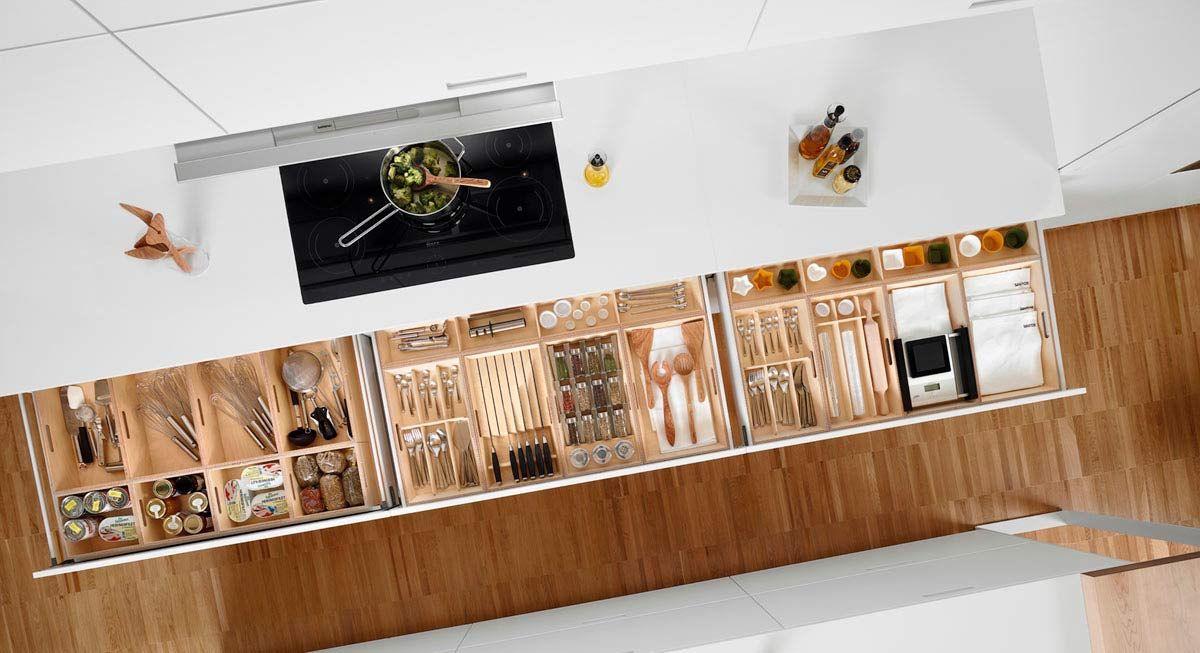 Cocinas accesorios para organizar tu cocina madrid for Organizar cajones cocina