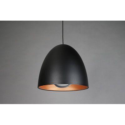 SeedDesign Helio 1 Light Bowl Pendant Shade Color: