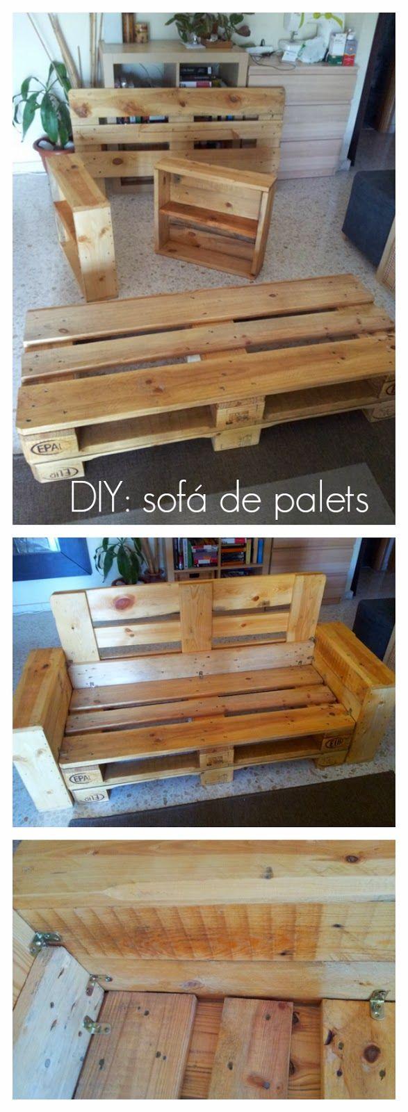 Sillon homemade como hacer un sofa sofas con palets y palets Como hacer un sofa con palets