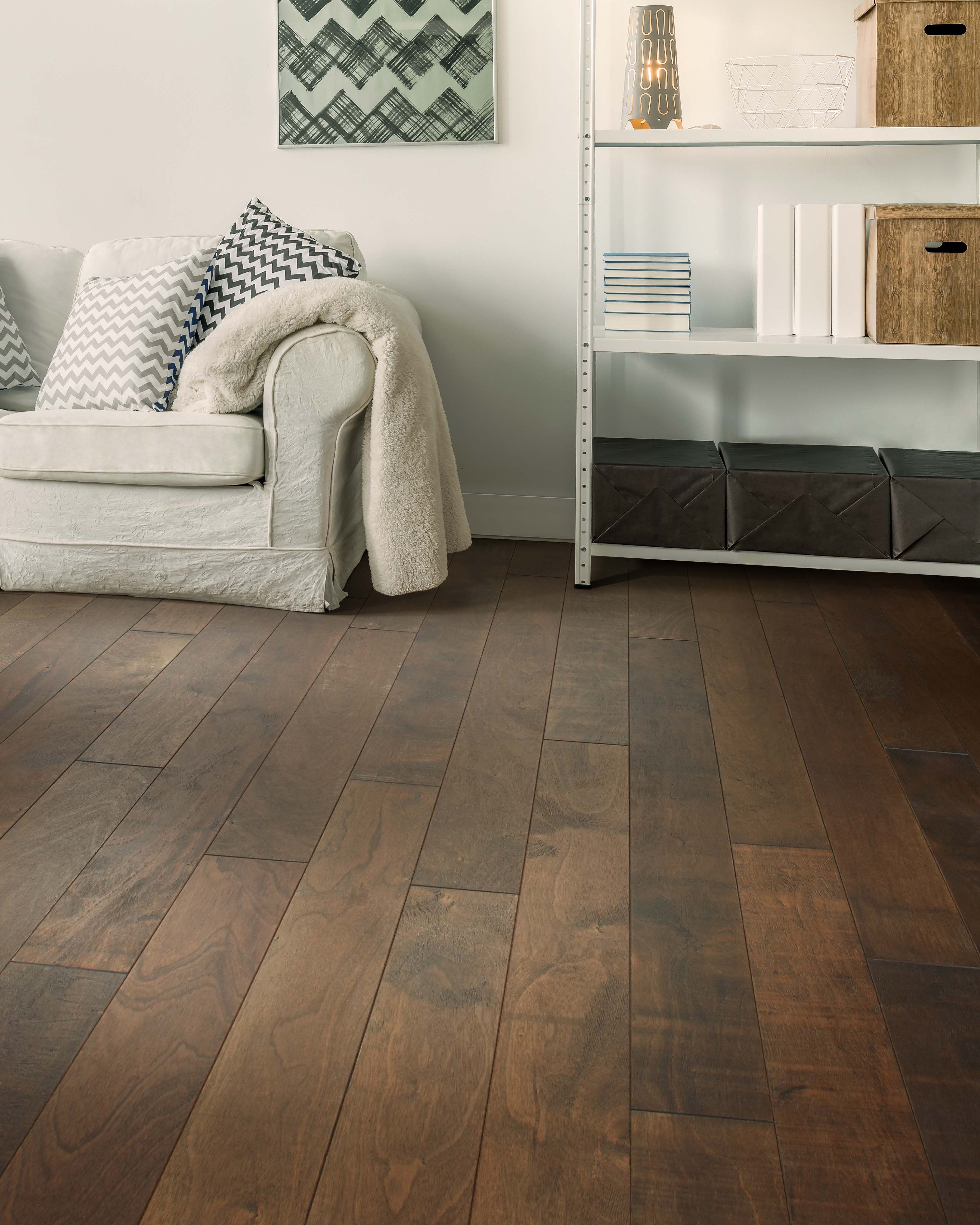 Tobacco Features A Classic Brown Tone And Natural Saw Blade Accent Marks That Create An Authentic Wood Visual Hardwood Wood Flooring Hardwood Design Home