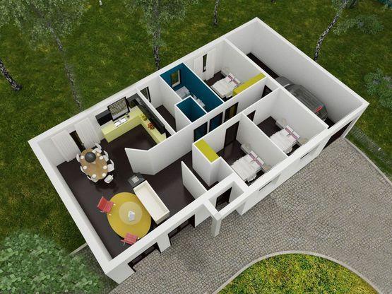 Modèle de maison PERRIERE -  Retrouvez tous les types de maison à